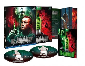 Beyond Re-Animator - Re-Animator 3 - Limited Edition 2 Blu-ray + Book da Collezione (Blu-ray)