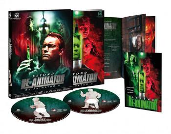 Beyond Re-Animator - Re-Animator 3 - Limited Edition 2 DVD + Book da Collezione (DVD)