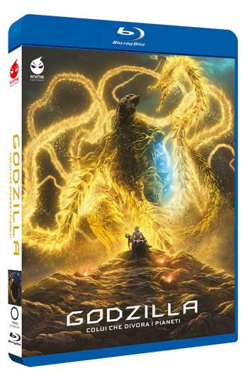 Godzilla - La Trilogia - Limited Edition 3 Blu-ray + Card + Booklet (Blu-ray)