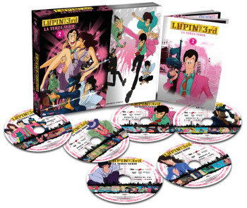 Lupin III - La Terza Serie - Volume 2 - Boxset 6 DVD (DVD)