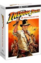 Indiana Jones - 4-Movie Collection - 4 Blu-ray 4K UHD + 5 Blu-ray + Mappa (Blu-ray)