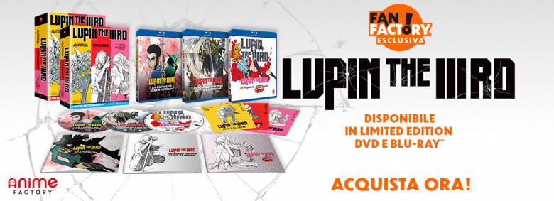 HP Carosello - Lupin Trilogia Acquista Ora