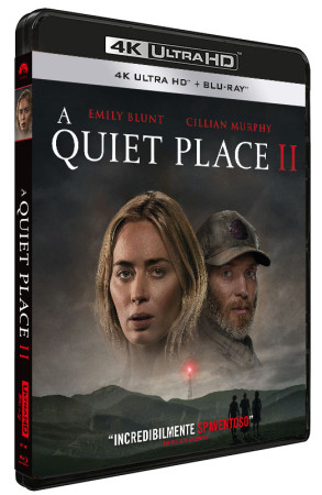 A Quiet Place II - Blu-ray 4K UHD + Blu-ray (Blu-ray)