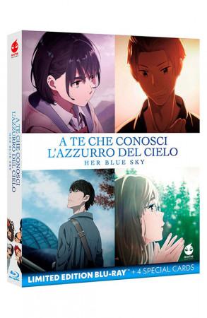 A Te che Conosci l'Azzurro del Cielo - Her Blue Sky - Limited Edition Blu-ray + 4 Special Cards (Blu-ray)