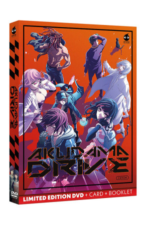 Akudama Drive - Limited Edition 3 DVD + Card + Booklet - Serie Completa (DVD)