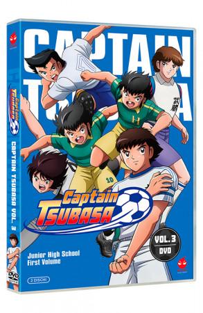 Captain Tsubasa - Volume 3 - Junior High School - Parte 1 - 2 DVD (DVD)