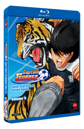 Captain Tsubasa - Volume 4 - Junior High School - Parte 2 - 2 Blu-ray (Blu-ray)