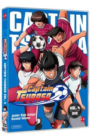 Captain Tsubasa - Volume 4 - Junior High School - Parte 2 - 2 DVD (DVD)