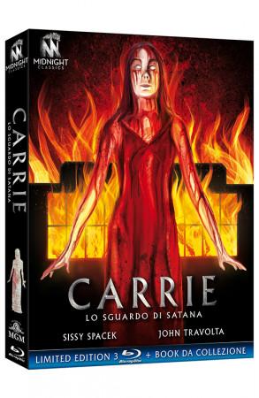 Carrie - Lo Sguardo di Satana - Limited Edition 3 Blu-ray + Book da collezione (Blu-ray)
