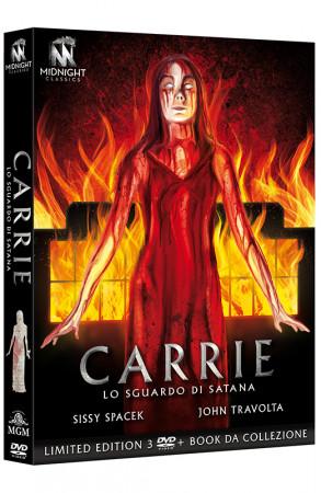 Carrie - Lo Sguardo di Satana - Limited Edition 3 DVD + Book da collezione (DVD)