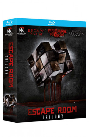 Escape Room Trilogy - Limited Edition 3 Blu-ray + Booklet (Blu-ray)