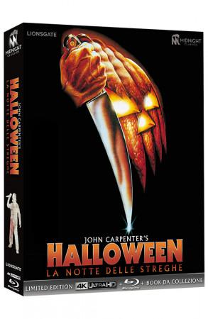 Halloween - La Notte delle Streghe - Ultralimited Edition Blu-ray 4K UHD + Blu-ray + Book da Collezione - 3 Blu-ray (Blu-ray)