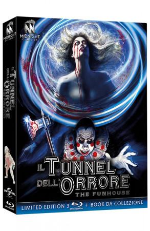 Il Tunnel dell'Orrore - The Funhouse - Limited Edition 3 Blu-ray + Book da Collezione (Blu-ray)