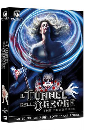 Il Tunnel dell'Orrore - The Funhouse - Limited Edition 3 DVD + Book da Collezione (DVD)