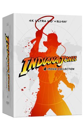 Indiana Jones - 4-Movie Collection - Steelbook - 4 Blu-ray 4K UHD + 5 Blu-ray (Blu-ray)