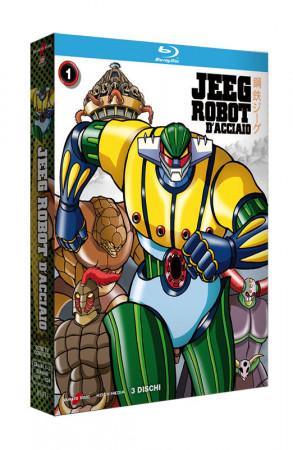 Jeeg Robot D'Acciaio - Serie TV - Volume 1 - Boxset 3 Blu-ray + Booklet (Blu-ray)