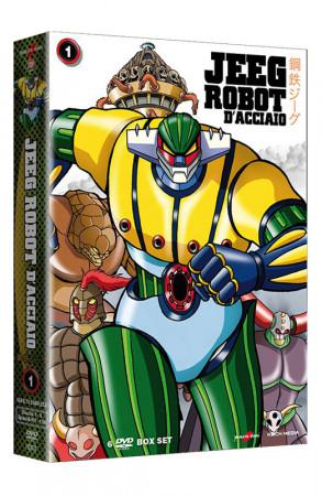 Jeeg Robot D'Acciaio - Serie TV - Volume 1 - Boxset 6 DVD + Booklet (DVD)