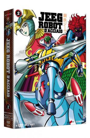 Jeeg Robot D'Acciaio - Serie TV - Volume 2 - Boxset 6 DVD + Booklet (DVD)