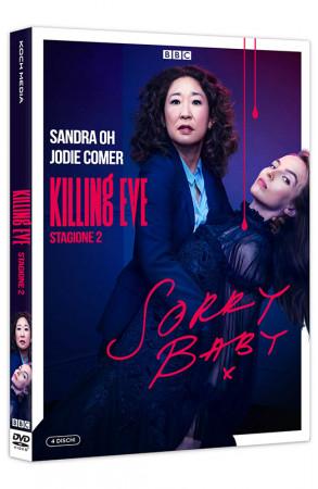 Killing Eve - Stagione 2 - Serie TV Completa - 4 DVD (DVD)