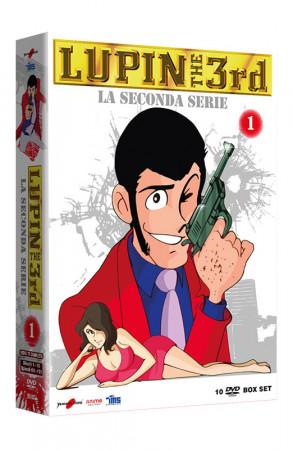 Lupin III - La Seconda Serie - Volume 1 - Boxset 10 DVD (DVD)