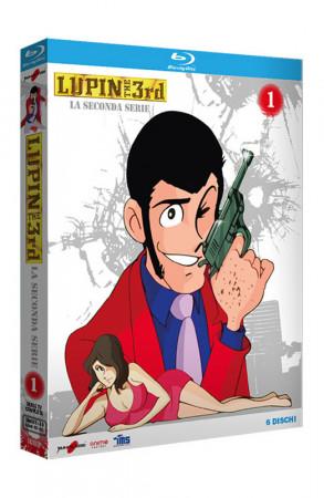 Lupin III - La Seconda Serie - Volume 1 - Boxset 6 Blu-ray (Blu-ray)