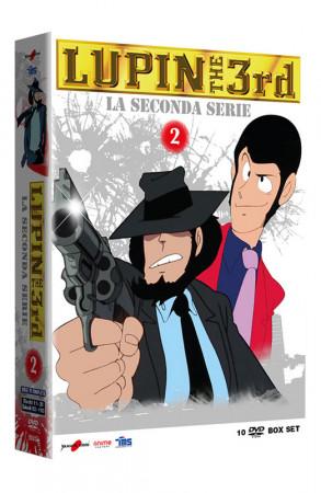 Lupin III - La Seconda Serie - Volume 2 - Boxset 10 DVD (DVD)