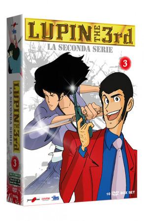 Lupin III - La Seconda Serie - Volume 3 - Boxset 10 DVD (DVD)