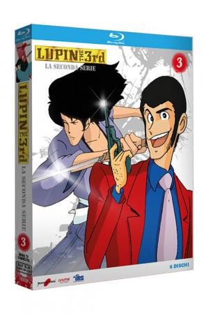 Lupin III - La Seconda Serie - Volume 3 - Boxset 6 Blu-ray (Blu-ray)