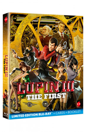 Lupin III - The First - Limited Edition Blu-ray + Booklet + Card da Collezione (Blu-ray)