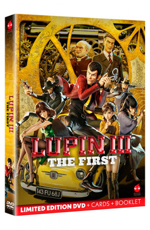 Lupin III - The First - Limited Edition DVD + Booklet + Card da Collezione (DVD)