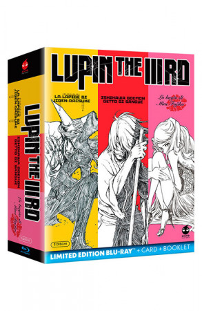 Lupin The IIIRD - La Trilogia - Limited Edition 3 Blu-ray + Card + Booklet (Blu-ray)
