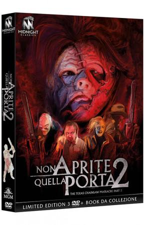 Non Aprite Quella Porta 2 - The Texas Chain Saw Massacre Part 2 - Limited Edition 3 DVD + Book da Collezione (DVD)
