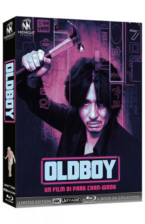 Oldboy - Limited Edition Blu-ray 4K UHD + Blu-ray + Booklet + Card (Blu-ray)