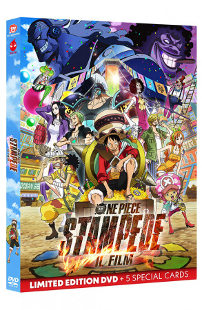 One Piece: STAMPEDE - Il Film - Limited Edition DVD + Special Cards (DVD)