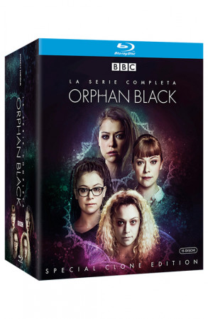 Orphan Black - La Serie Completa - 15 Blu-ray + Booklet + Card da Collezione (Blu-ray)