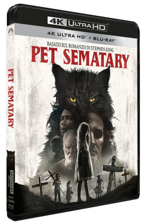 Pet Sematary (2019) - Blu-ray 4K UHD + Blu-ray (Blu-ray)