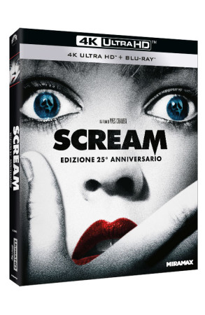 Scream - Blu-ray 4K UHD + Blu-ray - Edizione 25° Anniversario (Blu-ray)