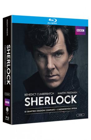 Sherlock - Stagioni 1-4 - 10 Blu-ray + Booklet + Card da Collezione (Blu-ray)