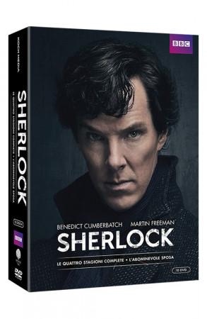 Sherlock - Stagioni 1-4 - 10 DVD + Booklet + Card da Collezione (DVD)
