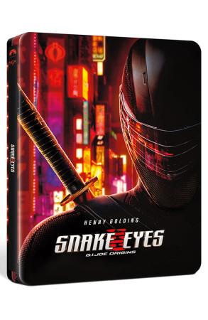 Snake Eyes: G.I. Joe - Le Origini - Steelbook Blu-ray 4K UHD + Blu-ray (Blu-ray)