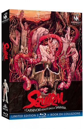Squirm - I Carnivori Venuti dalla Savana - Limited Edition 2 Blu-ray + Book da Collezione (Blu-ray)