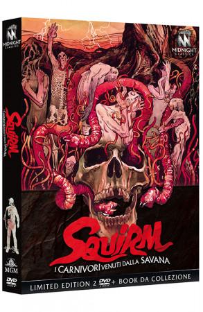 Squirm - I Carnivori Venuti dalla Savana - Limited Edition 2 DVD + Book da Collezione (DVD)