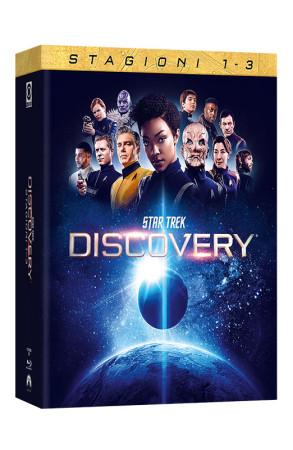 Star Trek: Discovery - Stagioni 1-3 - 12 Blu-ray (Blu-ray)
