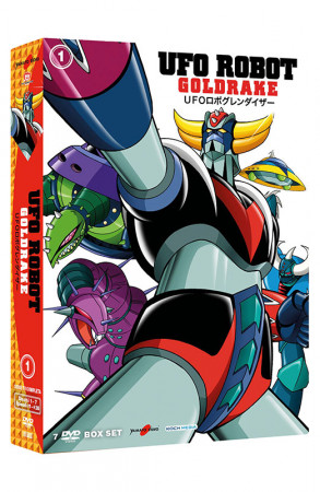 UFO Robot Goldrake - Volume 1 - Boxset 7 DVD (DVD)