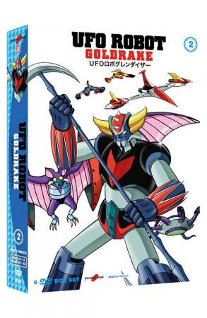 UFO Robot Goldrake - Volume 2 - Boxset 6 DVD (DVD)
