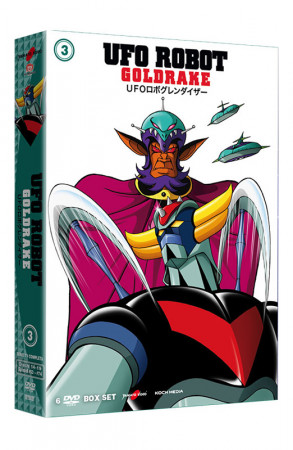 UFO Robot Goldrake - Volume 3 - Boxset 6 DVD (DVD)