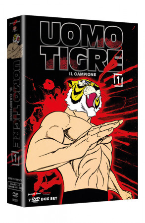 Uomo Tigre - Il Campione - Volume 1 - Boxset 7 DVD + Booklet (DVD)