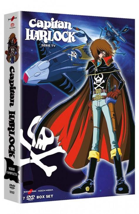 Capitan Harlock - La Serie TV Completa - Boxset 7 DVD + Booklet (DVD)