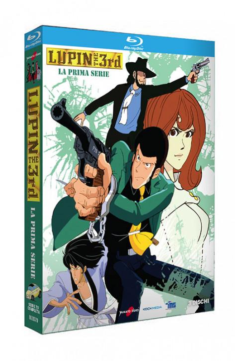 Lupin III - La Prima Serie - Serie TV Completa - 3 Blu-ray (Blu-ray)
