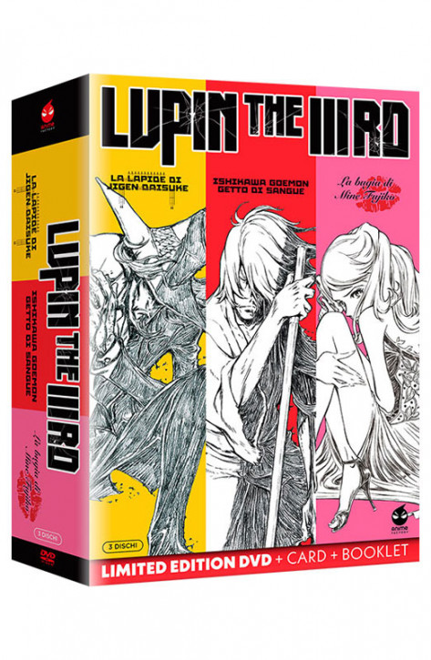 Lupin The IIIRD - La Trilogia - Limited Edition 3 DVD + Card + Booklet (DVD)